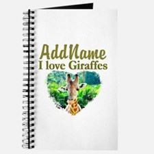 LOVE GIRAFFES Journal