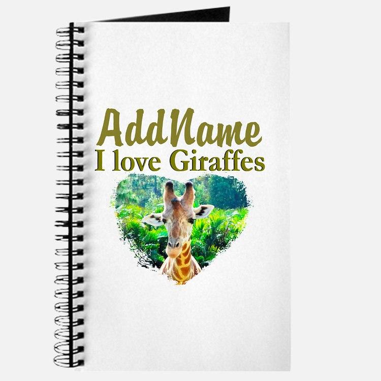 LOVE GIRAFFES Journal