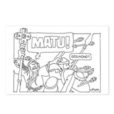 Matu! Postcards (Package of 8)
