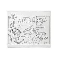 Matu! Throw Blanket