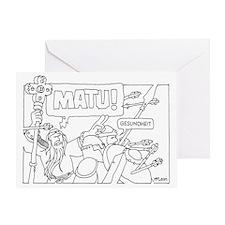 Matu! Greeting Card