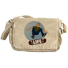 life_Dark_circl Messenger Bag
