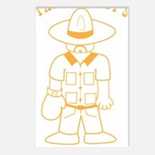 taco_punchy_yellow Postcards (Package of 8)