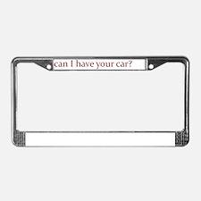 Lower License Plate Frame
