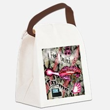 LIPPS-ROCKS2 Canvas Lunch Bag
