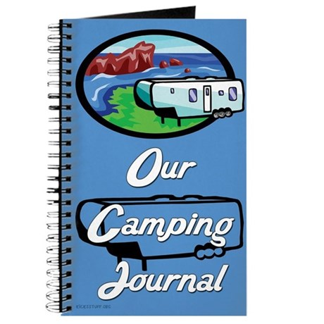 Our Camping Journal (Blue)