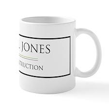 JJHEADERgreen-01 Mug