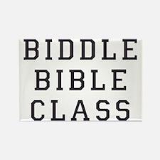 biddle bible class 2 Rectangle Magnet