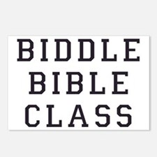 biddle bible class 2 Postcards (Package of 8)