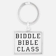biddle bible class 2 Landscape Keychain