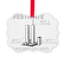 INVESTIGATE 911 B Ornament