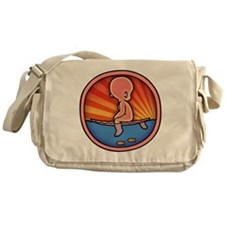 surf-womb-2-T Messenger Bag