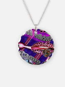 BG-BLUE-LIPPS-T-SH Necklace