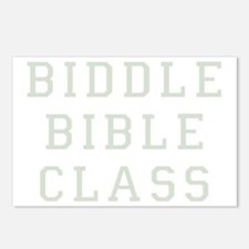 biddle bible class 2 dark Postcards (Package of 8)