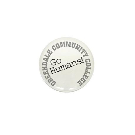 Greendale CC Go Humans Mini Button