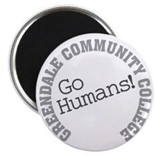 Greendale CC Go Humans Magnet