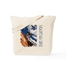 Mountain_Bike_Hill_whr Tote Bag