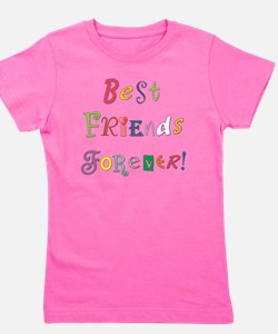 BestFriendsForever02 Girl's Tee