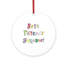 BestFriendsForever02 Round Ornament