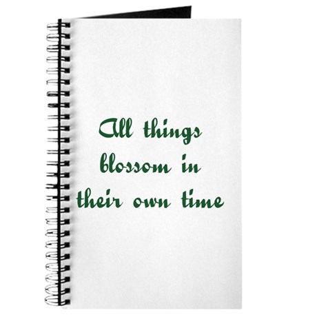 All Things Blossom Journal