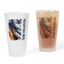 Mountain_Bike_Hill Drinking Glass