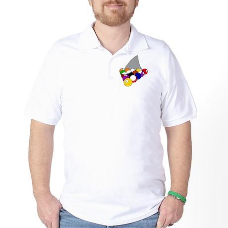 poolsharksafe Golf Shirt