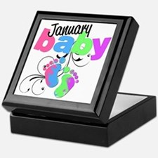 Jan baby Keepsake Box
