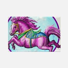 pony-tshirt Rectangle Magnet