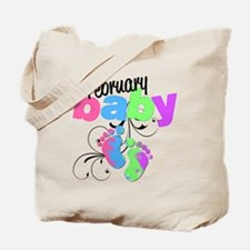Feb baby Tote Bag