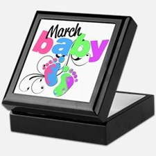 march baby Keepsake Box