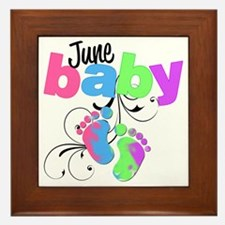 june baby Framed Tile