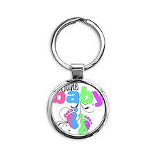 june baby Round Keychain