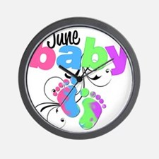 june baby Wall Clock