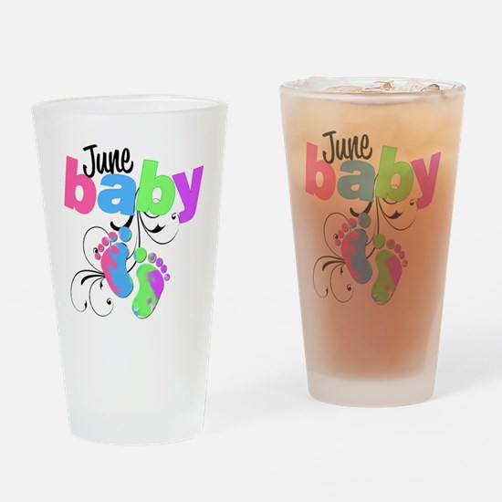 june baby Drinking Glass