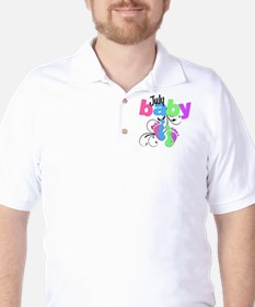 july baby Golf Shirt