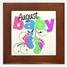 august baby Framed Tile