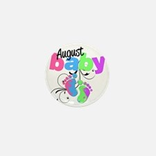 august baby Mini Button