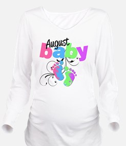 august baby Long Sleeve Maternity T-Shirt