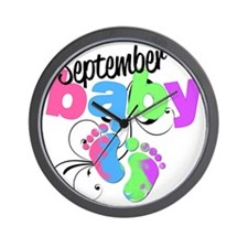 sep baby Wall Clock
