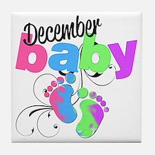 dec baby Tile Coaster