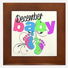 dec baby Framed Tile