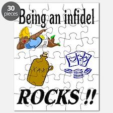 INFIDEL ROCKS Puzzle