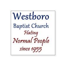 """Westboro8 Square Sticker 3"""" x 3"""""""