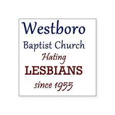 """Westboro7 Square Sticker 3"""" x 3"""""""