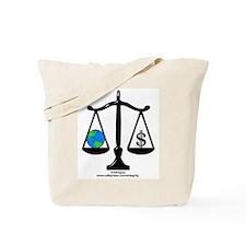Earth Balance Tote Bag