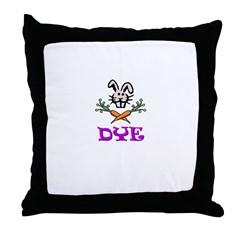 Dye Throw Pillow