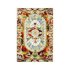 Regal_Splendor_Stained_Glass_73_i Rectangle Magnet