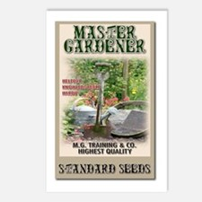Master Gardener seed packet Postcards (Package of