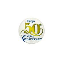 50thAnniversaryLogo2 Mini Button