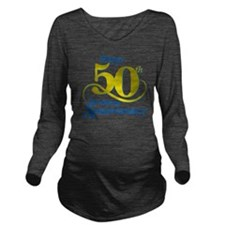 50thAnniversaryLogo2 Long Sleeve Maternity T-Shirt